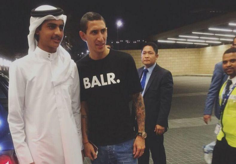 Di María ya llegó a Doha para firmar su vínculo con PSG
