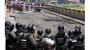 Estallido. Incidentes con la Guardia Nacional en un puente que une Venezuela con Colombia