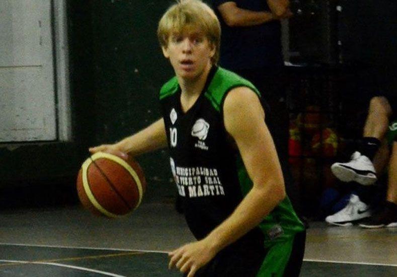 Sebastián Puñet es armador y viene de jugar el Federal en Tala.