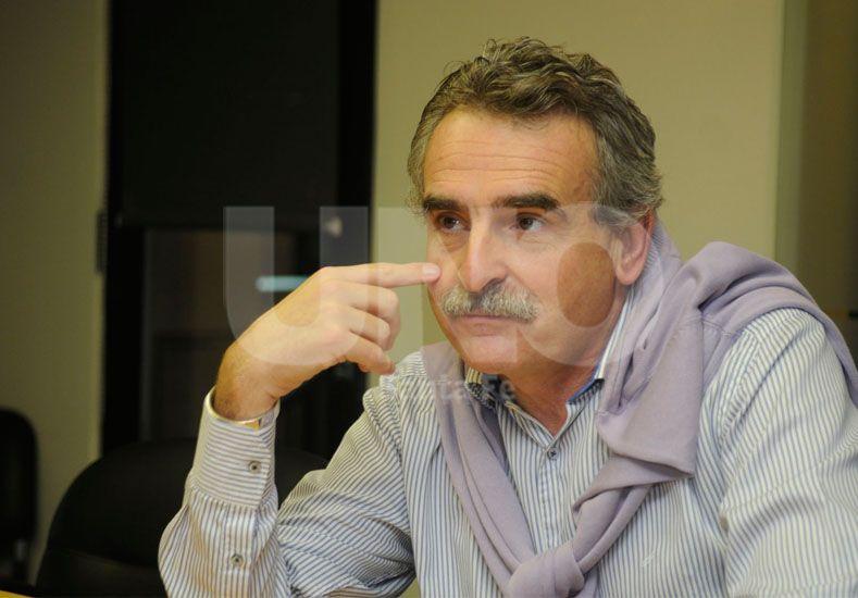 En la provincia. Rossi anticipa que no descuidará su armado local. Foto: José Busiemi / Diario UNO Santa Fe