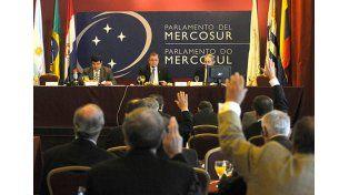Sesiones. Parlamentarios del Mercosur