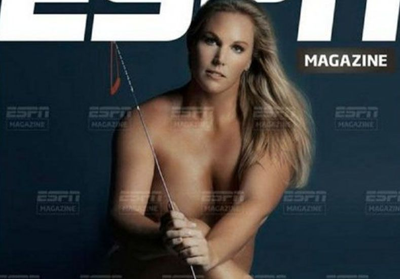 Otra atleta argentina se desnuda en una revista