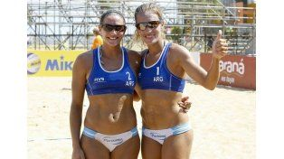 Dupla argentina Gallay-Klug está en la final del Circuito Sudamericano de Beach Volley