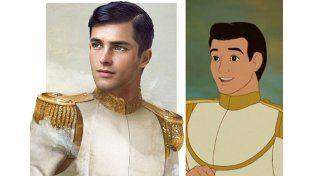 El príncipe Encantador de La Cenicienta   Fuente: Pública   Facebook: Jirka Vinse / Disney
