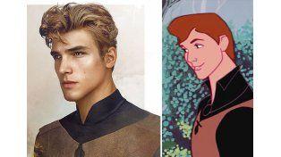 El Príncipe Felipe de La Bella Durmiente   Fuente: Pública   Facebook: Jirka Vinse / Disney