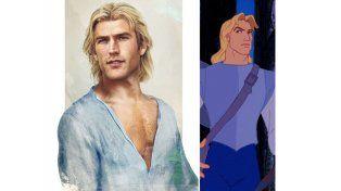El soldado John Smith de Pocahontas   Fuente: Pública   Facebook: Jirka Vinse / Disney