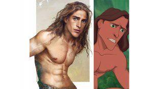 Tarzán   Fuente: Pública   Facebook: Jirka Vinse / Disney