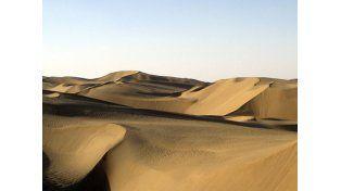 Un desierto que podría esconder un océano gigante
