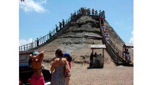 El volcán más pequeño del mundo