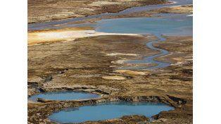 El mar Muerto, a punto de desaparecer