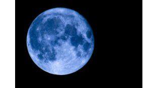 Julio se despide con una luna azul que no aparecía desde 2012