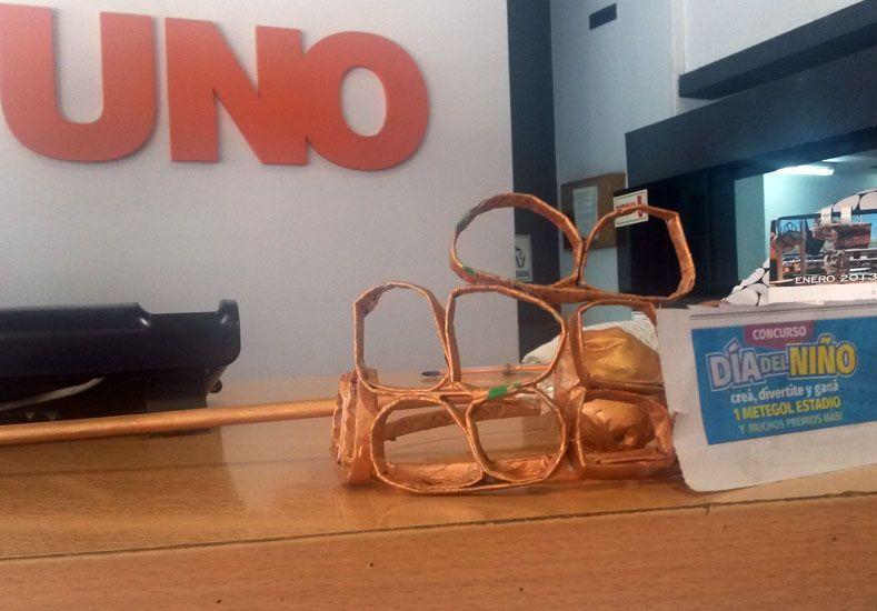 Las primeras creaciones de los chicos ya llegaron a Diario UNO. Participan por un Metegol.