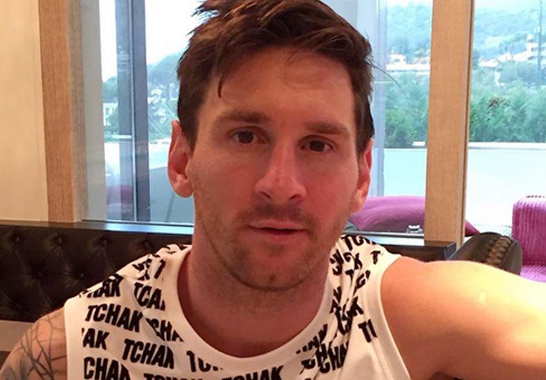 Messi arrancó su pretemporada muy bien acompañado