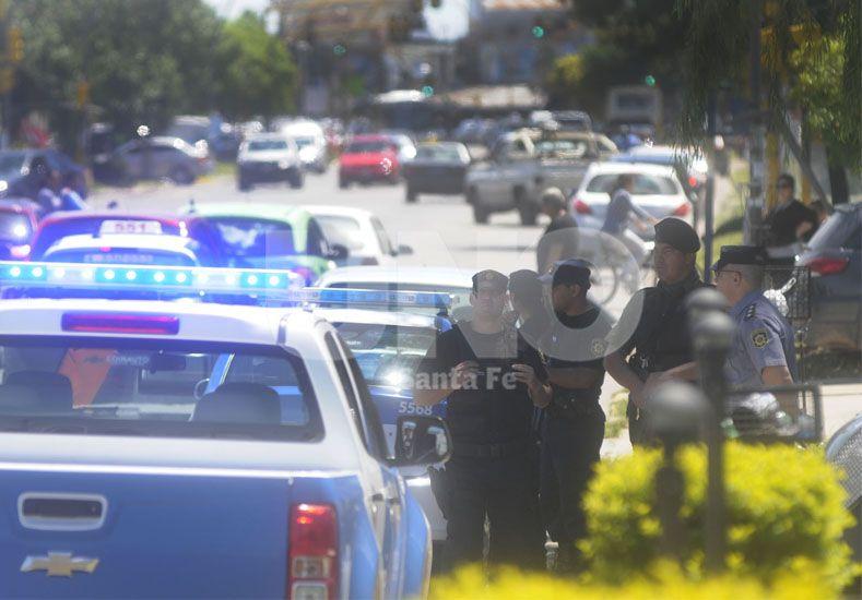 Estratégico. El procedimiento de control policial y municipal fue ejecutado en avenida Blas Parera frente al Cementerio Israelita.
