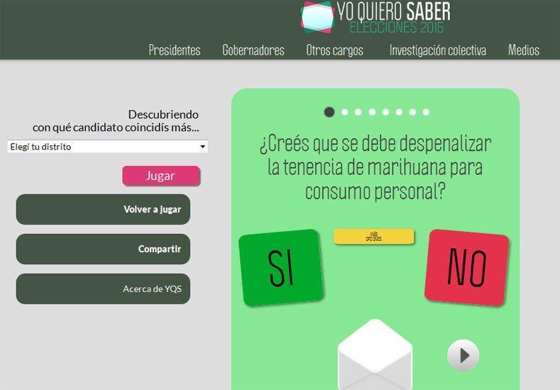 Crearon una app para que conozcas con qué candidatos se identifican tus ideas políticas