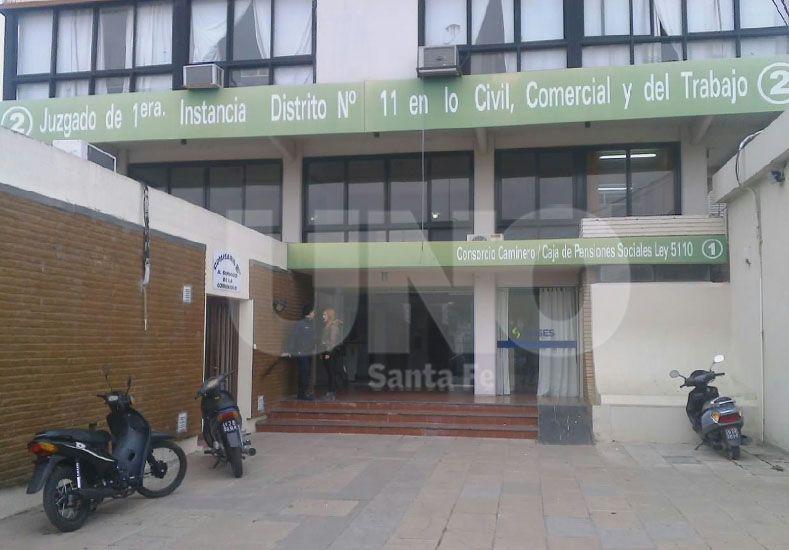 Forzaron la cerradura de la puerta y entraron a la Fiscalía de la ciudad de San Jorge