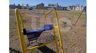 Unidad. Los vecinos están muy contentos con las mejoras que se lograron en el barrio. Foto: Manuel Testi / Diario UNO