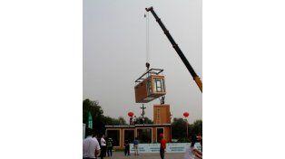 La empresa china que ensambla una casa en tres horas