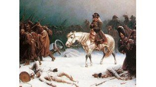 Revelaron por qué Napoleón fue vencido en Rusia