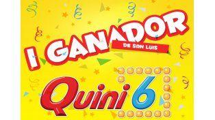 Un apostador de San Luis se llevó 6 millones en el Quini 6