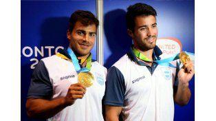 Rubén Rézola le dio una medalla de Oro a nuestro país en canotaje junto a Ezequiel Di Giácomo.