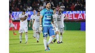 Jorge Broun reivindica la propuesta futbolística de Franco pese a que los números le dan la espalda. Foto: Manuel Testi / Diario UNO Santa Fe