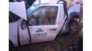 Cañada Rosquín: murieron dos trabajadores de la empresa Comasa