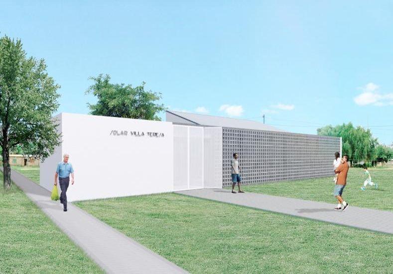 En Villa Teresa, 300 chicos disfrutarán de un nuevo Solar Municipal