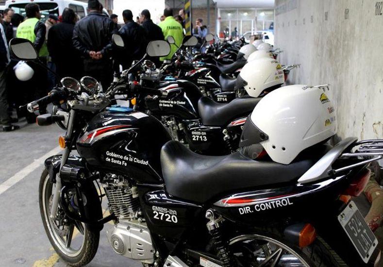El Municipio incorporó ocho motos para la Brigada de Tránsito