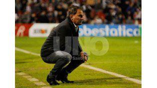 Leonardo Madelón se mostró motivado y volvió a destacar la entrega del equipo./ José Buseimi.