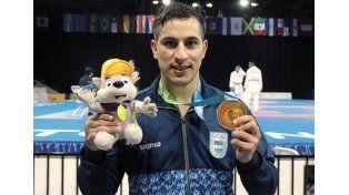 El campeón panamericano de karate y su curiosa inspiración