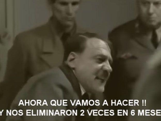 """Parodia: """"Hitler"""" se entera que River va a Japón"""
