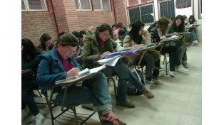 Participación. Numerosos estudiantes se suman al concurso para lograr un apoyo extra para su desarrollo. UNO de Santa Fe/José Busiemi