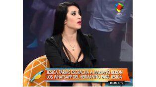 Jésica Farías dio pruebas de su noviazgo con Mariano Berón
