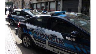 Efectivos de la Policía Federal llevó adelante el operativo en Laprida al 5600 de nuestra ciudad. (Foto de archivo)