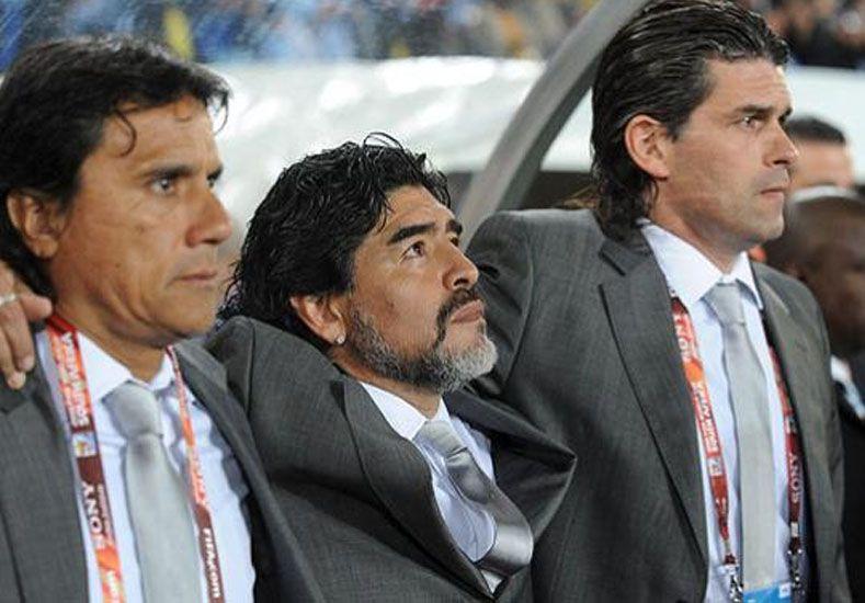 Mancuso demanda a Maradona por 80 palos
