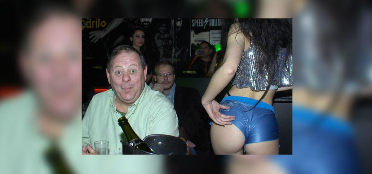 Champagne y mujeres para la despedida de soltero de Don Cirio