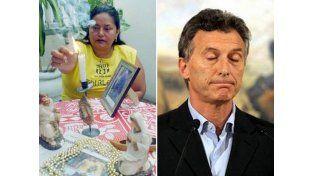 Tras el remezón porteño, Macri vio a una bruja porque desde su comando le dijeron que le hicieron un trabajo