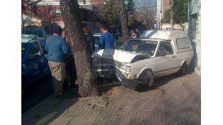 Impresionante accidente en barrio Constituyentes