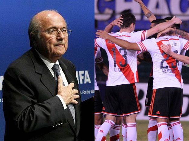 Blatter le dejó un claro mensaje a River