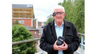 Un ojo biónico le devolvió la visión a un hombre británico