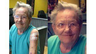 Una abuela de 79 años desapareció de su hogar para ir a hacerse un tatuaje