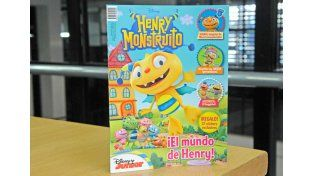 Pedí este Jueves la revista Henry Monstruito de Disney Junior
