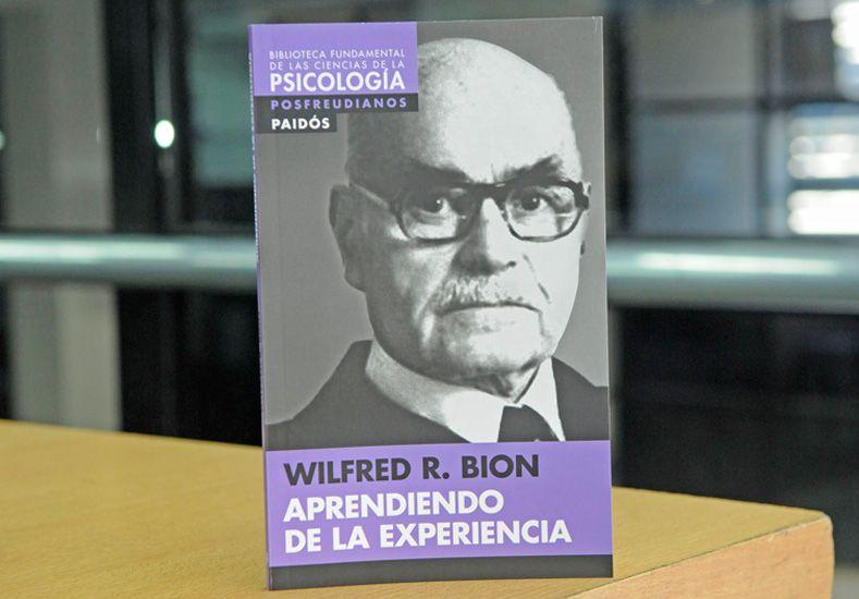 Este jueves pedí el libro de Wilfred R. Bion, Aprendiendo de la Experiencia