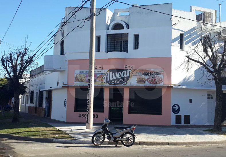 El local comercial donde se produjo el robo