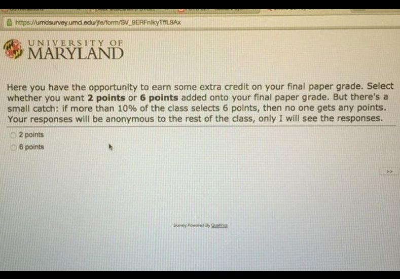 Mirá la extraña propuesta que le hizo un profesor de psicología a sus alumnos