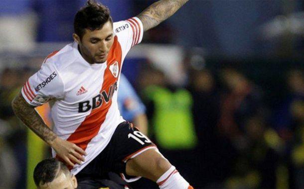 Tabaré Viudez llegó a River y ya mostró su calidad en el pase para el golazo de Lucas Alario.
