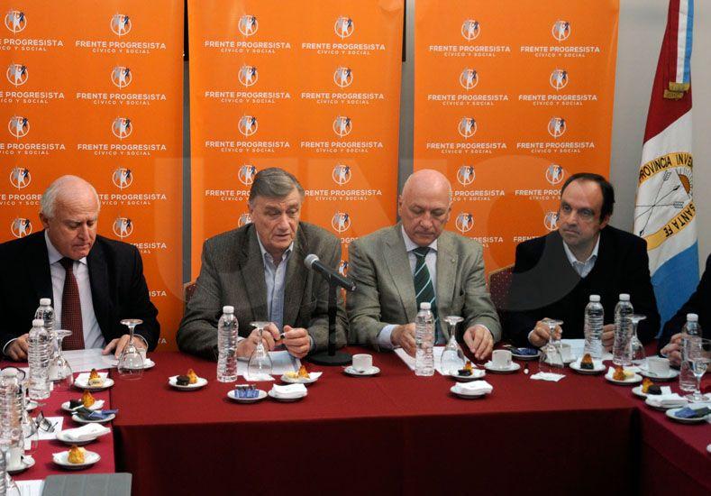El Frente expuso los temas que llevará al Congreso de la Nación