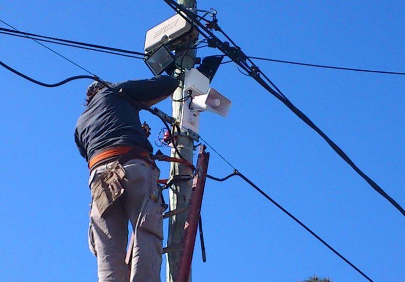 Barrio Sur: hay menos robos por la instalación de la alarma comunitaria