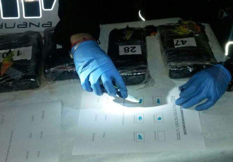 Frontera con Bolivia: Afip detectó 135 kilos de cocaína